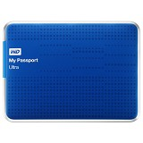WD My Passport Ultra 2TB USB 3.0 [WDBMWV0020BBL-PESN] - Blue - Hard Disk External 2.5 inch